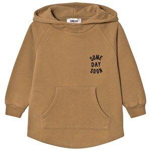 Someday Soon Boys Jumpers and knitwear Khaki Monterey Hoodie Khaki