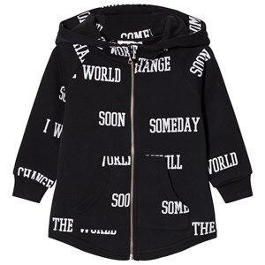 Someday Soon Boys Jumpers and knitwear Black World Hoodie Black