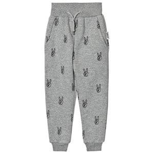Someday Soon Boys Bottoms Grey Melange Power Pants Grey Melange