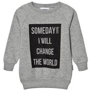 Someday Soon Boys Jumpers and knitwear Grey Melange Ivan Sweatshirt Grey Melange