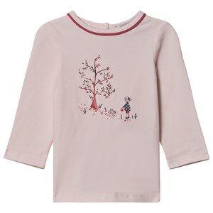 Cyrillus Girls Tops Pink Rose Pale T-Shirt