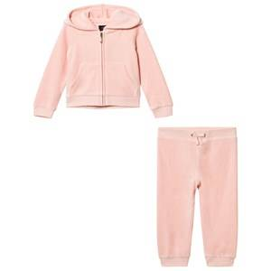 Juicy Couture Girls Clothing sets Pink Pale Pink Scotty Jewelled Tracksuit