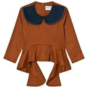 Wolf & Rita Girls Tops Orange Teresa Blouse Orange