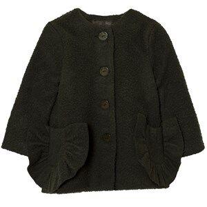Wolf & Rita Girls Coats and jackets Grey Adriana Coat Green