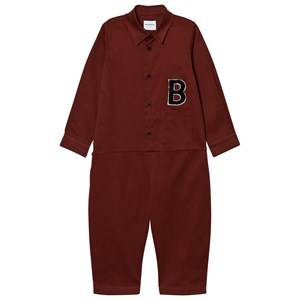 Image of Wolf & Rita Boys All in ones Red Miguel Jumpsuit Bordeaux