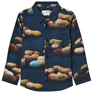 Wolf & Rita Boys Tops Blue Roberto Shirt Peanuts