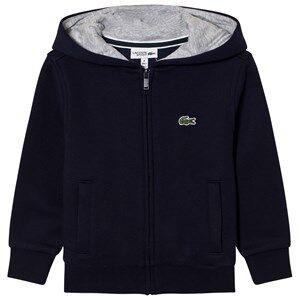 Lacoste Boys Jumpers and knitwear Navy Zippered Fleece Sweatshirt Navy
