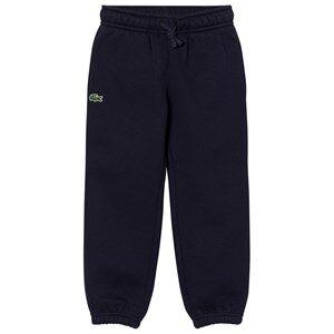 Lacoste Boys Bottoms Navy Tennis Fleece Trackpants Navy