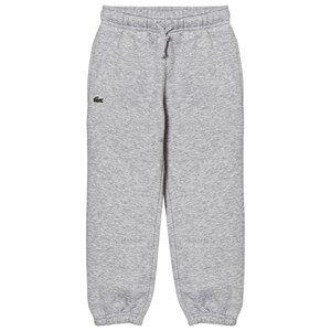 Lacoste Boys Bottoms Grey Tennis Fleece Trackpants Gray