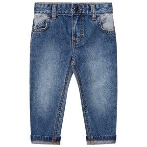 Billybandit Boys Bottoms Blue Slim Fit Contrast Jeans