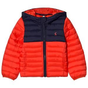 Tom Joule Boys Coats and jackets Red Red Navy Packaway Puffer Jacket