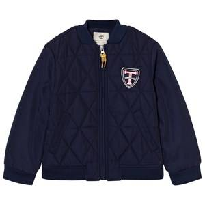 Timberland Boys Coats and jackets Navy Navy Quilted Bomber Jacket