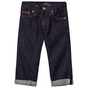 Ralph Lauren Boys Bottoms Navy Eldridge Skinny Jeans