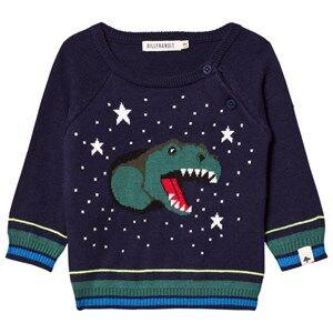 Billybandit Boys Jumpers and knitwear Navy Navy Dinosaur Sweater
