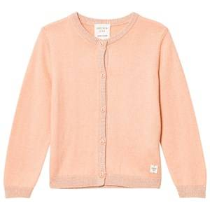Image of Carrément Beau Girls Jumpers and knitwear Pink Pink Lurex Rib Knit Cardigan
