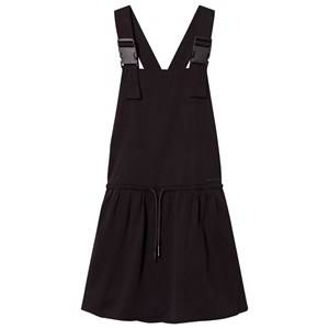 DKNY Girls Dresses Black Black Dungaree Dress