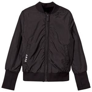 DKNY Girls Coats and jackets Black Reversible Bomber Jacket