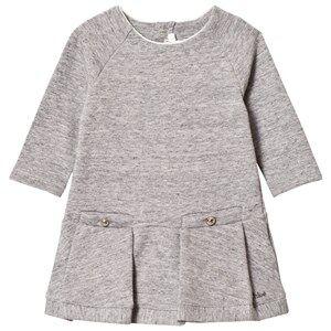 Image of Chloé Girls Dresses Grey Grey Marl Sweater Dress