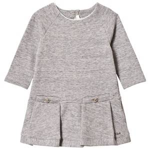 Image of Chloé Girls Dresses Grey Grey Marl Sweater Dress