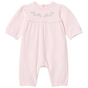 Image of Emile et Rose Girls All in ones Pink Libby One-Piece with Diamante Details