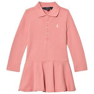 Ralph Lauren Girls Dresses Pink Pink Polo Dress