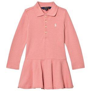 Ralph Lauren Girls Dresses Pink Pink Polo Dress