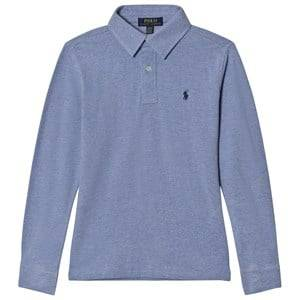 Ralph Lauren Boys Tops Blue Blue Campus Polo Tee