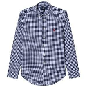 Ralph Lauren Boys Tops Multi Gingham Poplin Shirt
