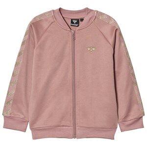 Hummel Girls Coats and jackets Pink Olga Zip Sweater Wood Rose Gold
