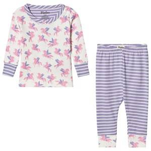 Hatley Girls Nightwear Cream Cream Unicorn Print Pyjamas