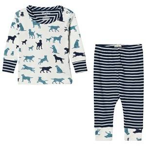 Hatley Boys Nightwear White White Labrador Print Pyjamas