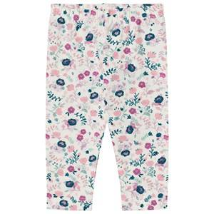 Hatley Girls Bottoms Cream Cream Floral Leggings