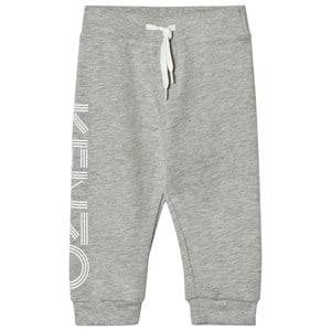 Kenzo Boys Bottoms Grey Grey Marl Branded Sweatpants