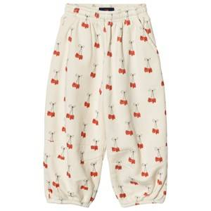 The Animals Observatory Unisex Bottoms Cream Dromedary Pants White Cherries