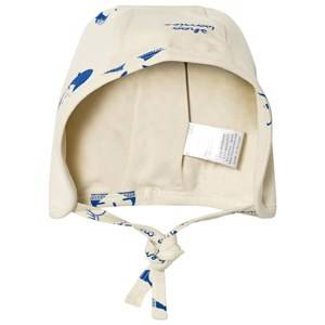 Tinycottons Unisex Headwear Beige No-Worry Dolls Baby Hat Beige/Blue
