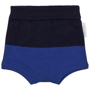 Tinycottons Unisex Underwear Blue Color Block Baby Bloomer Dark Navy/Blue