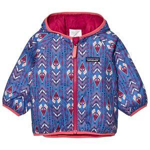 Patagonia Unisex Coats and jackets Blue Baby Reversible Puff-Ball Jacket Tipikat Oasis Blue
