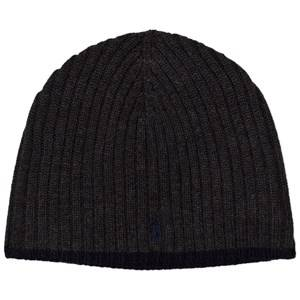 Ralph Lauren Boys Headwear Grey Charcoal Merino Beanie