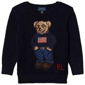 Ralph Lauren Boys Jumpers and knitwear Navy Bear Infant Sweater Navy