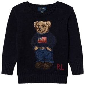Ralph Lauren Boys Jumpers and knitwear Navy Bear Infant Sweater Navy