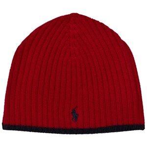 Ralph Lauren Boys Headwear Red Red Merino Beanie