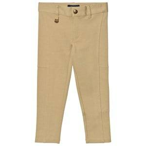 Ralph Lauren Girls Bottoms Brown Ponte Leggings Fall Khaki