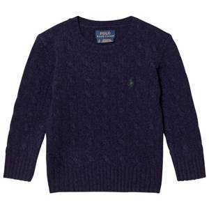 Ralph Lauren Boys Jumpers and knitwear Navy Navy Wool Knit Sweater