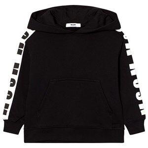 MSGM Boys Jumpers and knitwear Black Black Logo Hoody