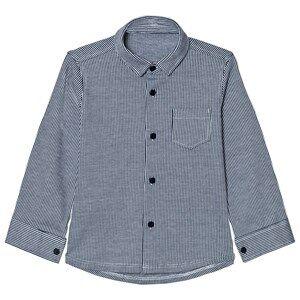 Il Gufo Boys Tops Navy Navy Stripe Jersey Shirt