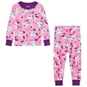Hatley Girls Nightwear Pink Pink Unicorn All Over Print Pyjamas