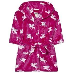 Hatley Girls Nightwear Purple Unisex Unicorn Print Bathrobe