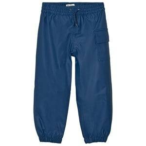 Hatley Boys Bottoms Navy Navy Waterproof Trousers
