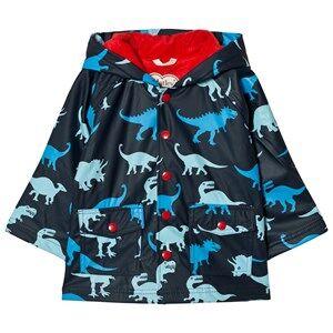 Hatley Boys Coats and jackets Navy Dino Print Raincoat Navy