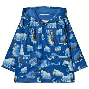 Hatley Boys Coats and jackets Blue Mammoth Print Raincoat Blue
